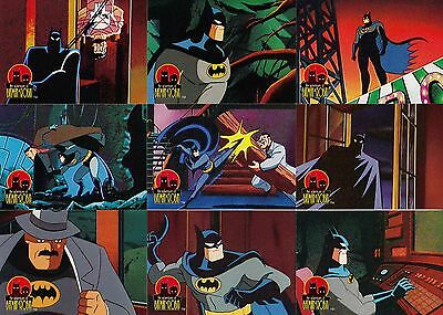 The Adventures Of Batman & Robin 1995 Skybox Base Card Set Of 90 & 12 Pop-Ups Dc