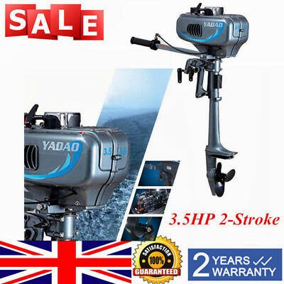 3.5HP 2-Stroke Outboard Motor Fishing Sail Boats Engine CDI System Water Cooling