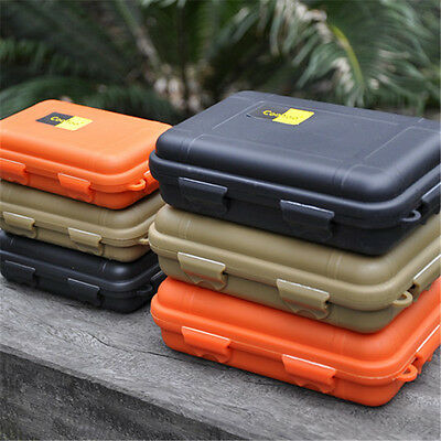 Outdoor Waterproof Shockproof Airtight Survival Container Storage Case Carry Box