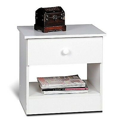 Prepac WHD-2020-1 Night Stand (White) White