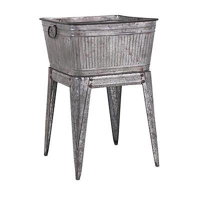 Imax 65345 Perryman Galvanized Tub On Stand