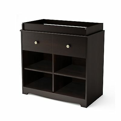 South Shore Furniture South Shore Little Teddy's Changing Table Espresso