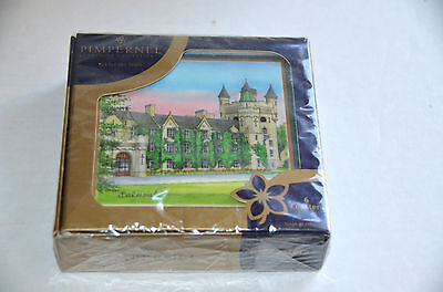 Pimpernel Premier Collection Coasters Art for Table Royal Palaces Sealed