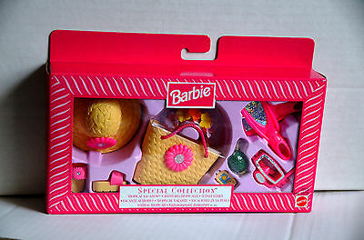1999 Barbie Special Collection Tropical Vacation Accessories Set 23505 NRFB