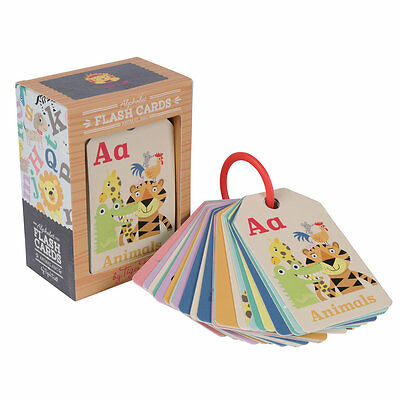 Tiger Tribe - Animal ABC Flash Cards - Baby Letter Cards