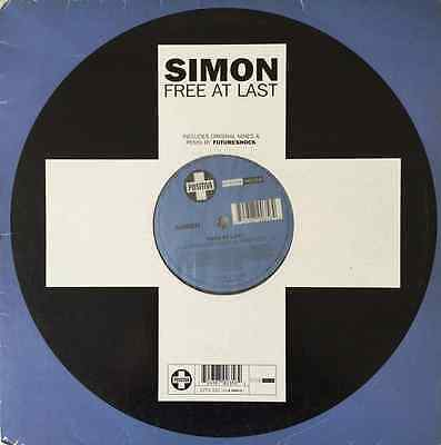 "SIMON - Free At Last (12"") (VG+/G)"