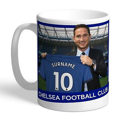 Personalised CHELSEA Football Club FC Manager Mug Gift