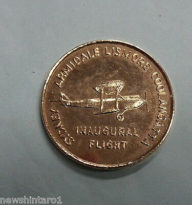 #D275. Gilt Medal For  1982 Sydney Armidale Lismore Coolangatta Air Race