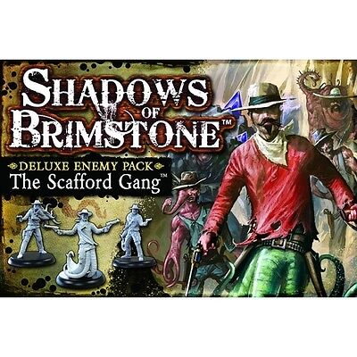 Shadows Of Brimstone The Scafford Gang Deluxe Enemy Pack - Brand new!