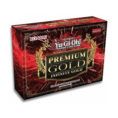 Yu-Gi-Oh! TCG Premium Gold 3: Infinite Gold Collection Box - Brand new!