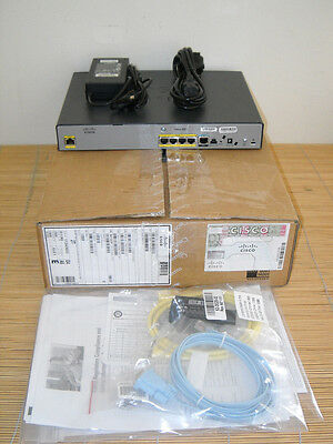 NEW Cisco 881-K9 Ethernet Security Router NEU OVP