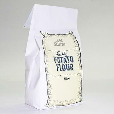 Suma QUALITY POTATO  FLOUR / Starch 500g * Buy 2 and Save on P&P * Gluten Free
