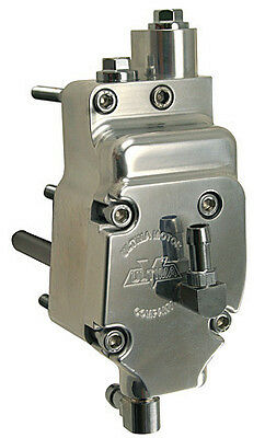 Ultima Polished Billet, High Output Oil Pump for Harley BT 92'-Later