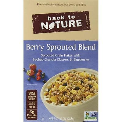 Back To Nature 10 Ounce Berry Sprouted Blend Cereal, Case Of 6