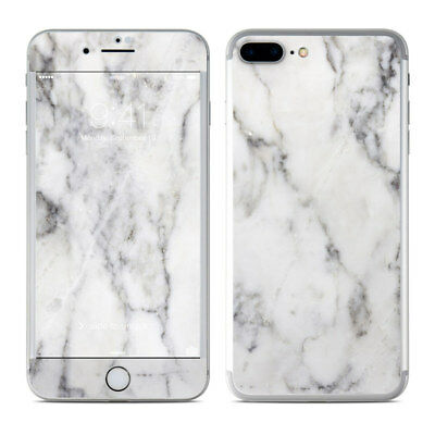 iPhone 7 Plus Skin - White Marble - Sticker Decal
