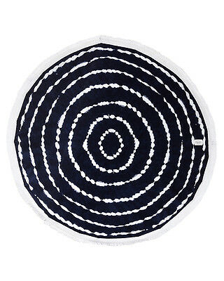 New Rip Curl White Out Womens Round Towel Womens Beach Pool Bath Absorbent Blue
