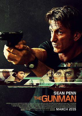 The Gunman (2015) - A1/A2 POSTER **BUY ANY 2 AND GET 1 FREE OFFER**