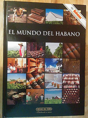 """el Mundo Del Habano"" Book Tobacco World Cuban Cigar History With Multimedia Cd"