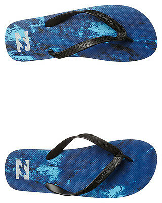 New Billabong Men's Tripped Out Thong Rubber Mens Shoes Blue
