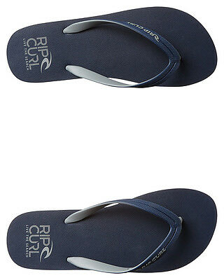 New Rip Curl Men's Mc Thong Rubber Mens Shoes White
