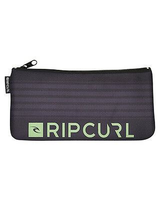 New Rip Curl Small Medina Pencil Case Neoprene Gifts Grey