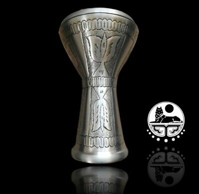 Vd Percussion Egyptian Hammered Darbuka  Doumbek  Drum 3028S  Free Softcase&key