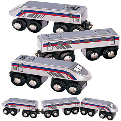High Speed Train for Wooden Railway Train Set 50810 - Brio Bigjigs Compatible