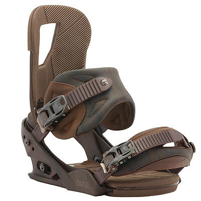 Brand New Burton Cartel Re:flex Snowboard Bindings Size M Free Shipping