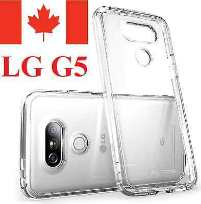 LG G5 Case - Crystal Clear Gel Ultra Thin Soft TPU Transparent Cover