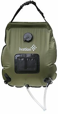 Ivation 5-Gallon Portable Outdoor Shower - Lightweight & Portable - Includes ...