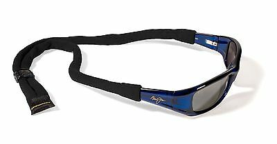 Croakies Cotton Suiters Eyewear Retainer Black