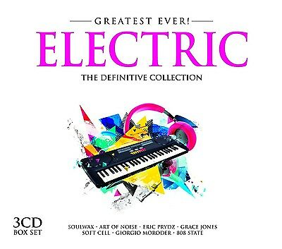 Greatest Ever Electric (Soulwax, Art Of Noise, Grace Jones, ...) 3 Cd New!
