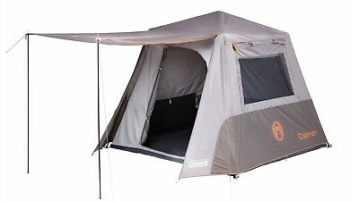 Coleman 4 Person Instant Up Full Fly Tent - Shade & Protection in Under 2 Mins