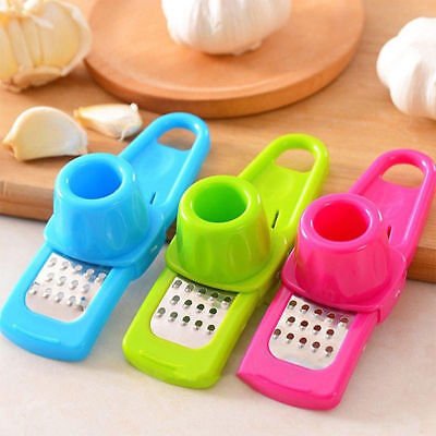 New Hot Kitchen Hand Cooking Tool Garlic Ginger Grinding Cutter Device Presses