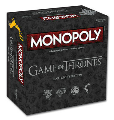 Monopoly Game of Thrones Collectors Edition Board Game NEW