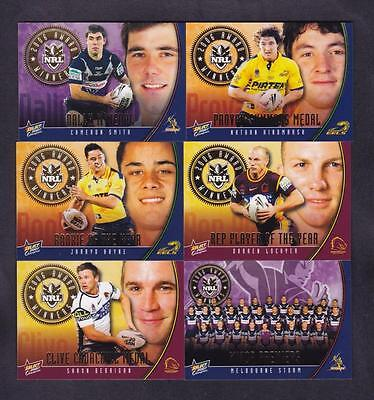 Select 2007 Champions Award Cards Full Set