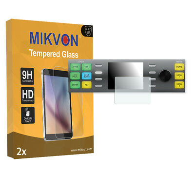 2x Mikvon Tempered Glass 9H for Blackmagic Teranex 3D Screen Protector