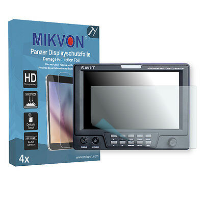 4x Mikvon Armor Screen Protector for Blackmagic Swit M-1071F Retail Package