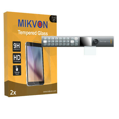 2x Mikvon Tempered Glass 9H for Blackmagic Smart Videohub 20x20 Screen Protector