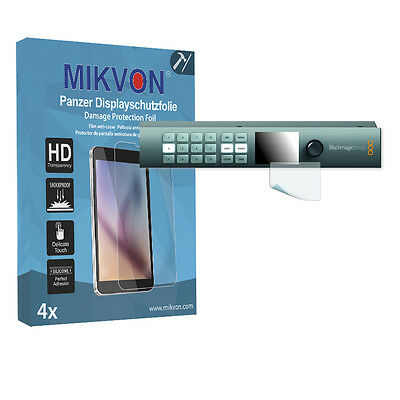 4x Mikvon Armor Screen Protector for Blackmagic Smart Videohub CleanSwitch 12x12