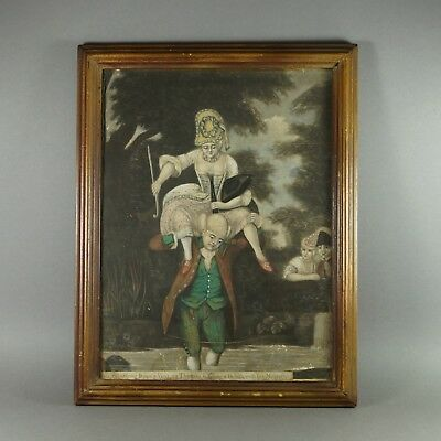 Antique 18th Century Mezzotint Engraving By R Sayer RARE Circa 1774