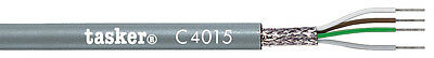 Tasker C4015 Multicore shielded cable 4x0,15 mm2 for data transmission 100 m UK