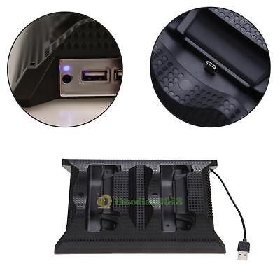 2016 Dual Charging Station w/ Cooling Cooler Fan for Xbox one S Game Controller