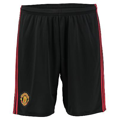 adidas Mens Gents Football Manchester United Home Goalkeeper Shorts 2016-17