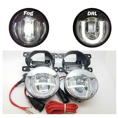 Ford Fiesta MK7 (08-) 5000K LED Front Fog Lamps / Light Units with DRL Function