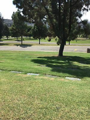 Beautiful Rose Hills Cemetery Plot **PrimeRose Lawn** 1 Space Available