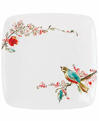 Lenox Chirp Square Accent Plates, Set of 4