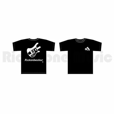 Rickenbacker Bass T-Shirt - Black - X-Large