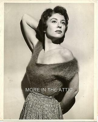 Sexy Busty Amanda Blake Of Gunsmoke Fame Original Nbc Portrait Still