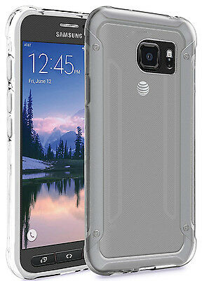 Galaxy S7 Active Housse  Etui Housse de protection Silicone Coque Fine TPU Gel